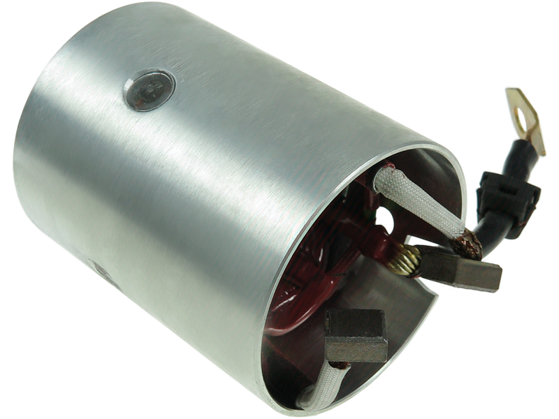 Brand new AS-PL Starter motor yoke with field coil and brush